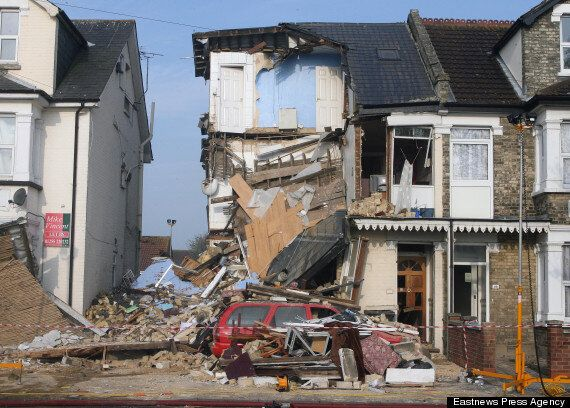 UK Explosion: House Collapses And 60 Evacuated After Gas Blast In
