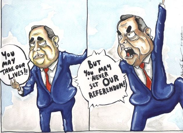 Alex Salmond Does Braveheart: Musings on the Art of