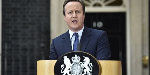 David Cameron And A Case Of A Shattered