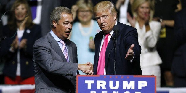 Trump And Farage Own The Globalisation Backlash. They