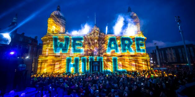 Wind Power Is Now At The Heart Of Hull - BP's Sponsorship Of The City Of Culture Couldn't Be More Out...