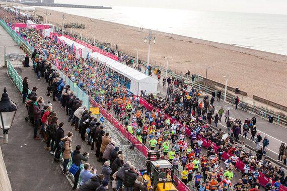 Brighton Half Marathon Is Tonic For Less Boozy