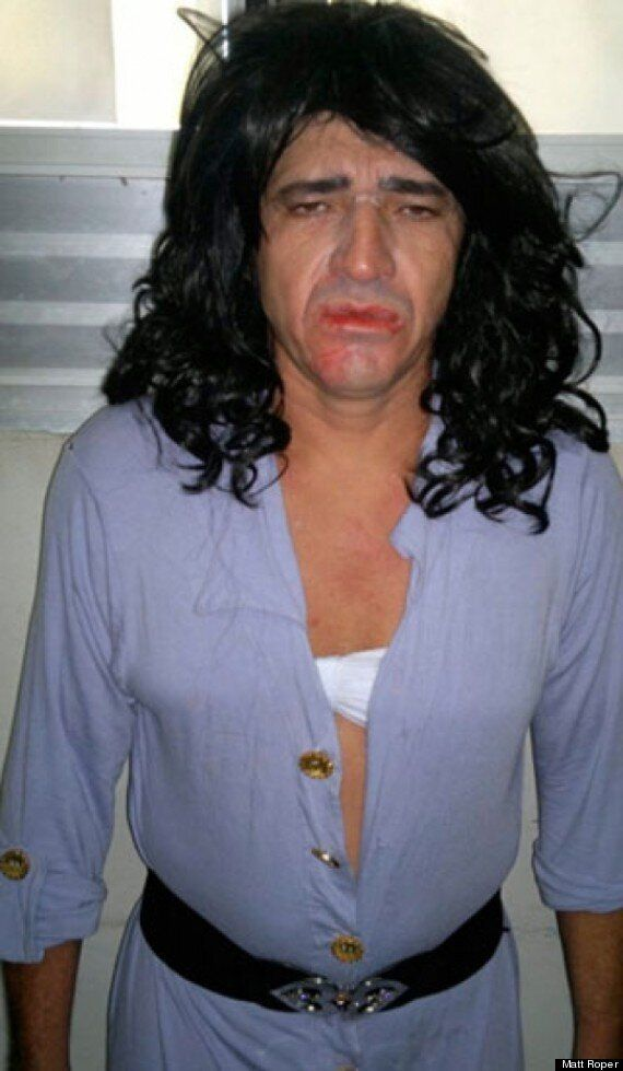 Prison Escape Fail For Ronaldo Silva After Drag Disguise Rumbled By High