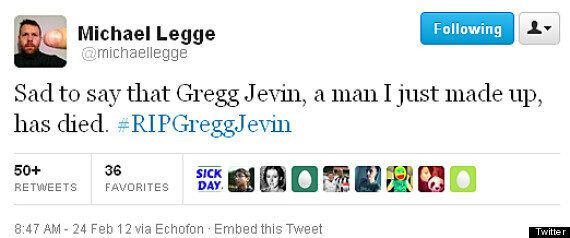 RIP Gregg Jevin: Imaginary Death Of Imaginary Comic Trends On