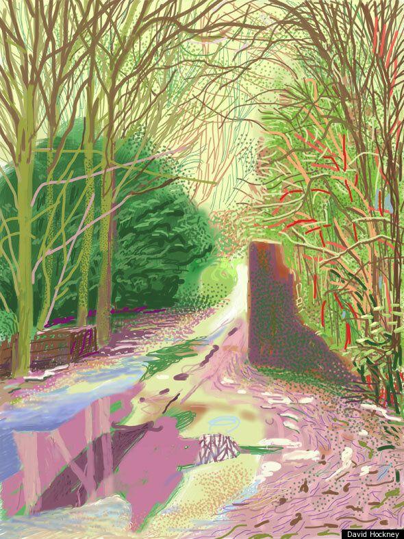 Can An iPad Make You Paint Like David Hockney? We