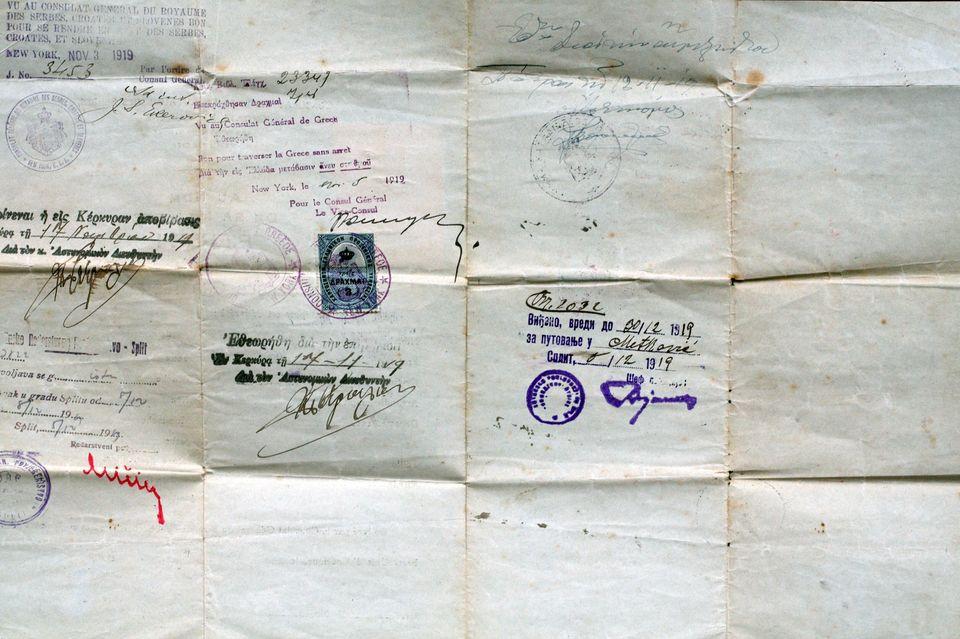 Στο Ellis Island - Ταξίδι στη Νέα Υόρκη στις αρχές του 20ου