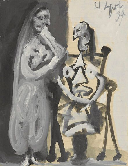 Picasso On Paper - Omer Tiroche