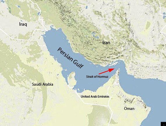 Iran: Flotilla Of Warships Sent Through Strait of Hormuz Heightens
