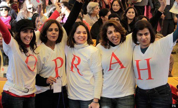Move Over Rushdie - Oprah Winfrey Steals Show At Jaipur Literary