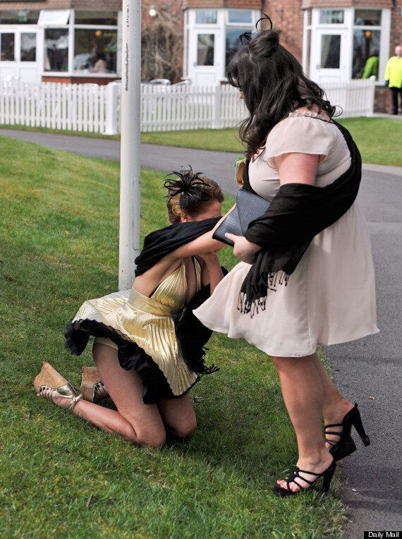 Ladies Day Aintree Preview: Milly Johnson Is An Unlucky Faller At The