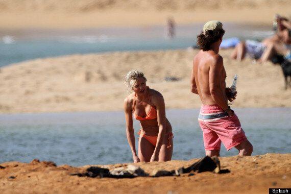 Cameron Diaz Flaunts Her Beach Body On Hawaiian