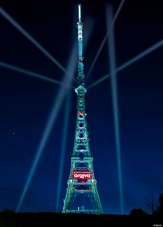 Crystal Palace Tower Lights Up For Analogue
