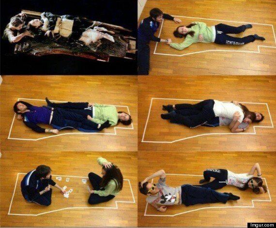 Proof That Jack And Rose Could Have Fitted On That 'Titanic' Plank Of Wood Pretty Easily