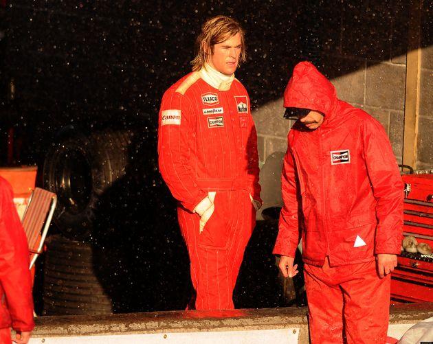 FIRST LOOK: Chris Hemsworth As James Hunt For Motor Racing Biopic