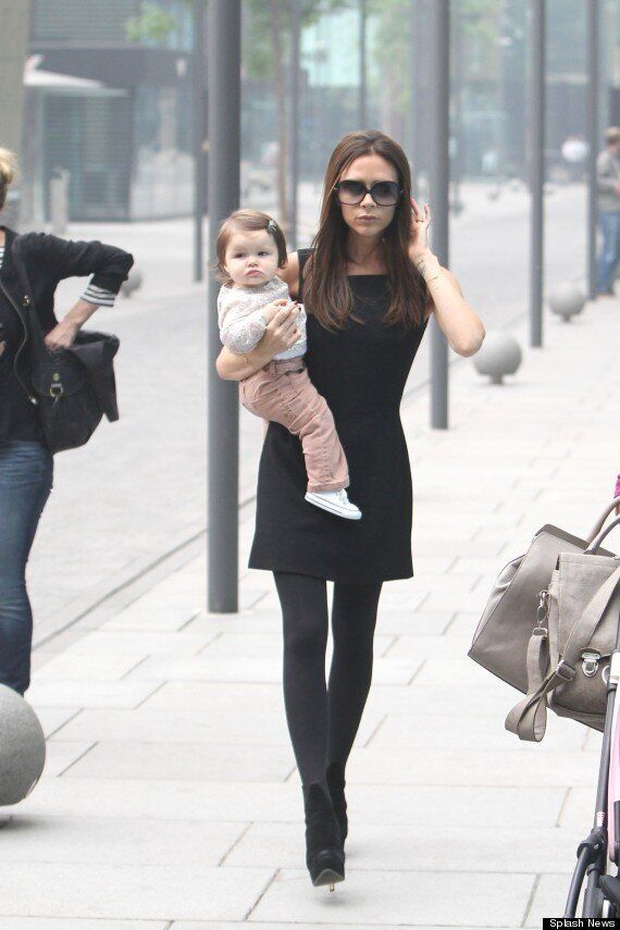 Victoria Beckham Takes Daughter Harper Seven Shopping In