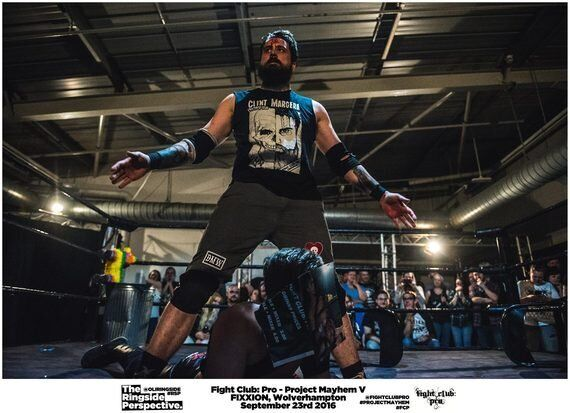 Death Match Wrestler Clint Margera Opens Up Ahead of ICW