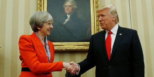 Theresa May's Disgraceful Cowardice Has Let Britain Down - Join Us In Standing Up To Trump's