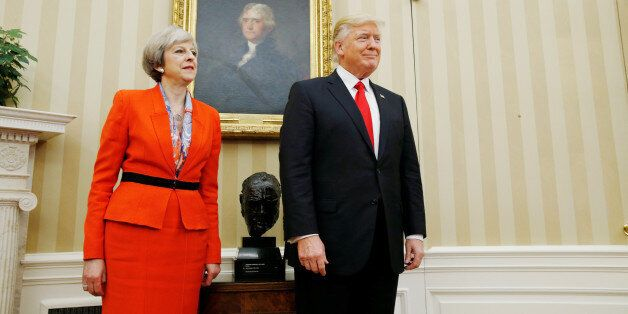 To Mr Trump And Mrs May - Thank