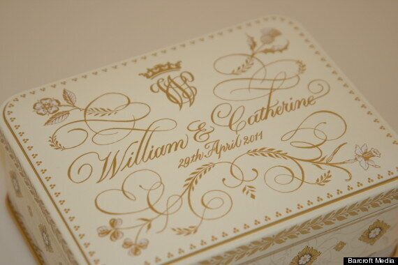 Kate Middleton And Prince William Wedding Cake Slice Up For Auction