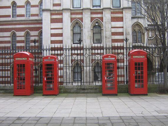 London's Iconic Red Phone Box Gets A Twenty-First Century