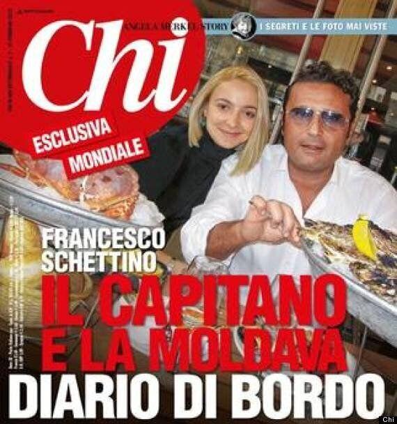 Costa Concordia: Captain Francesco Schettino And Domnica Cemortan Pictured Dining On