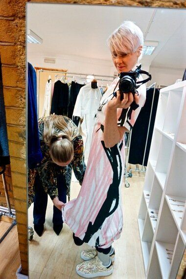 Edda's Illustrative Fancies Make For Fashion Week