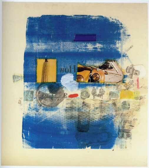 Robert Rauschenberg, Transfer Drawings From The 1950s And