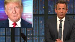 Seth Meyers Has A Funny Theory About Trump's Air Force One