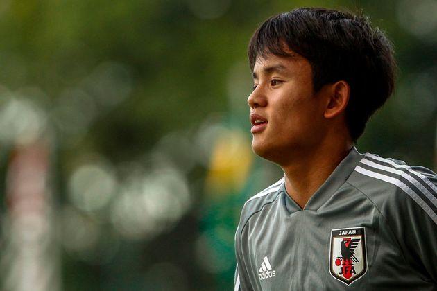 El Real Madrid ficha al joven japonés Takefusa