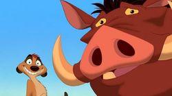 ¿Qué animales eran Timón y Pumba de 'El rey
