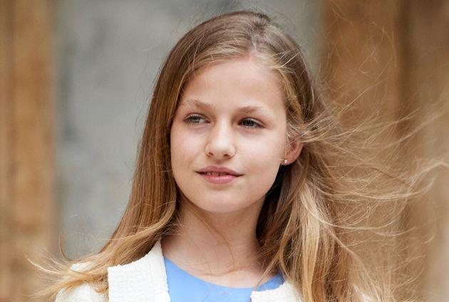 La princesa Leonor se estrena este año en los Princesa de Asturias y Princesa de