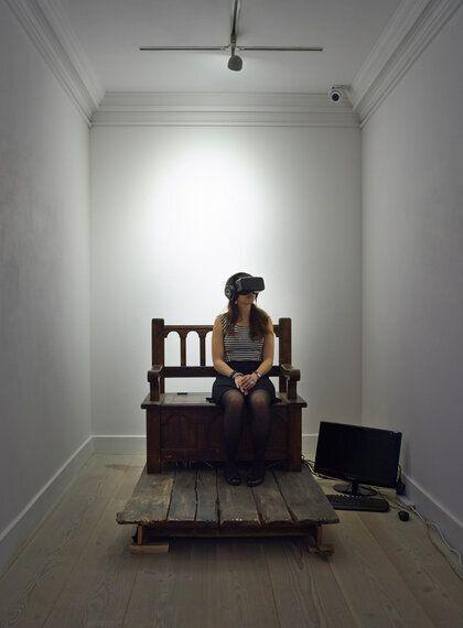 Enter Through the Headset - Gazelli Art