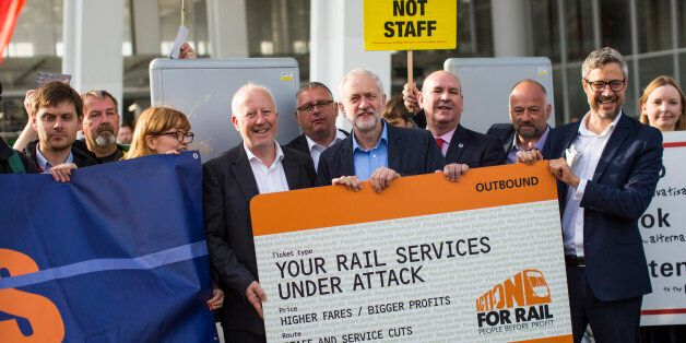 With Today's Transport Policy Announcement, Jeremy Corbyn Undermined His Colleagues Yet
