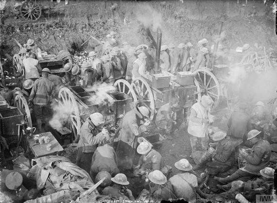 Eating, Drinking and Fighting: The Somme,