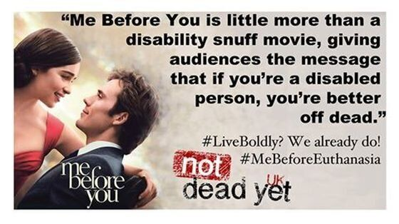 'Me Before You': Not for Me