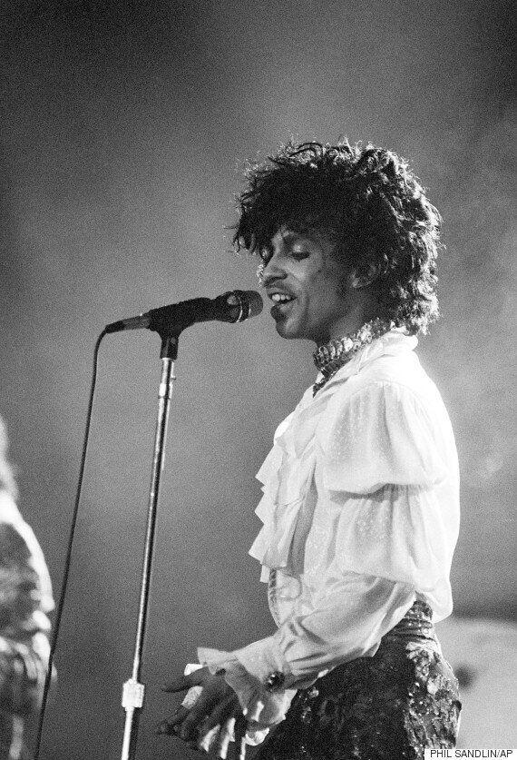 Prince's 'Purple Rain' Shirt Sells For A HUGE Amount Of