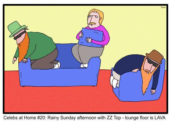 Celebs at Home #20: ZZ