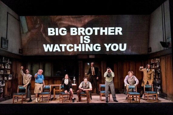 Review: 1984, Playhouse Theatre 'Orwell on