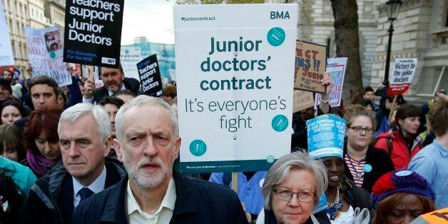 As A Doctor Facing The Nightmare Of NHS Cuts, Jeremy Corbyn's Policies Give Me