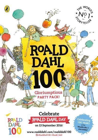 Celebrating 100 Years Of Roald