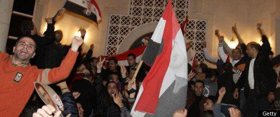 Syria: Pro-Regime Demonstrators Attack Embassies In