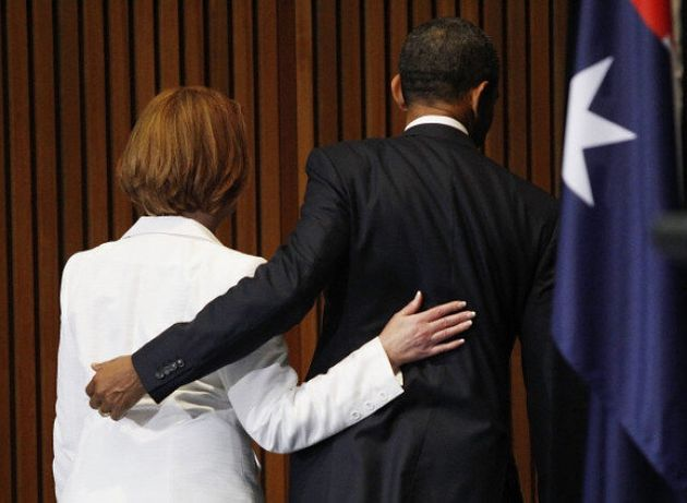 What's Going On Between Obama And The Australian Prime Minister? (And No It's Not A Benetton