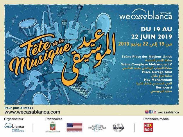 La fête de la musique s'invite à Casablanca du 19 au 22