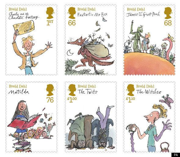 New Stamps Celebrate Roald