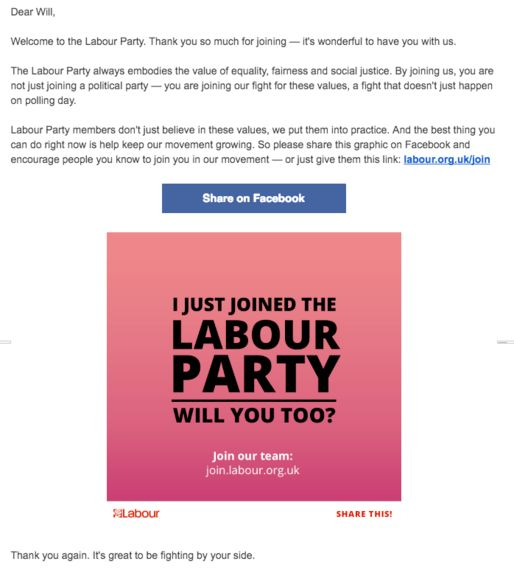 Five Things the Labour Party Can Learn From Subscription