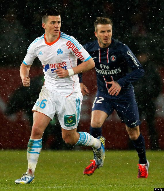 David Beckham Makes PSG Debut In 2-0 Win Vs Marseille