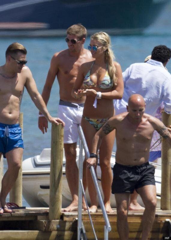 Alex Gerrard Shows Off Bikini Body As She Celebrates Wedding Anniversary With Steven Gerrard In Ibiza