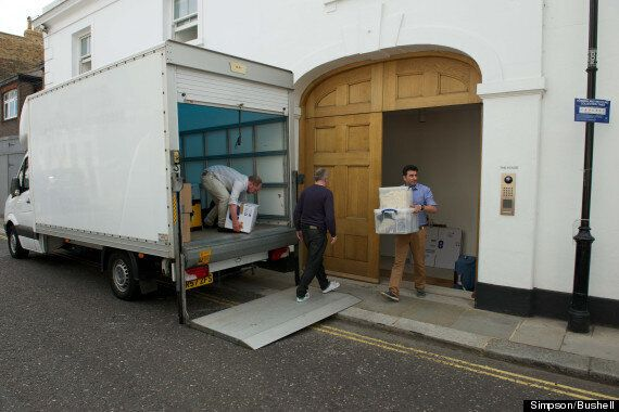 Nigella Lawson And Charles Saatchi Split For Good? Removals Staff Spotted Clearing Home Of Her