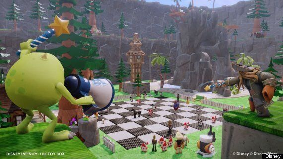 Disney Infinity Review: 'To Profit-Maximising Commerciality, And