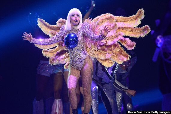 Lady Gaga artRAVE Tour: Singer Wears Her Weirdest Outfits Yet... And Strips Naked Onstage As She Kicks...
